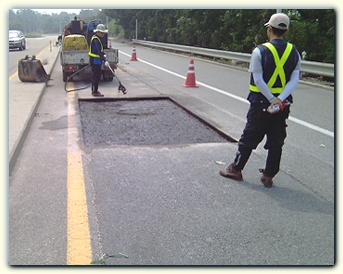 Road Repair in Progess